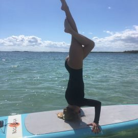 SUP yoga and the approach to life